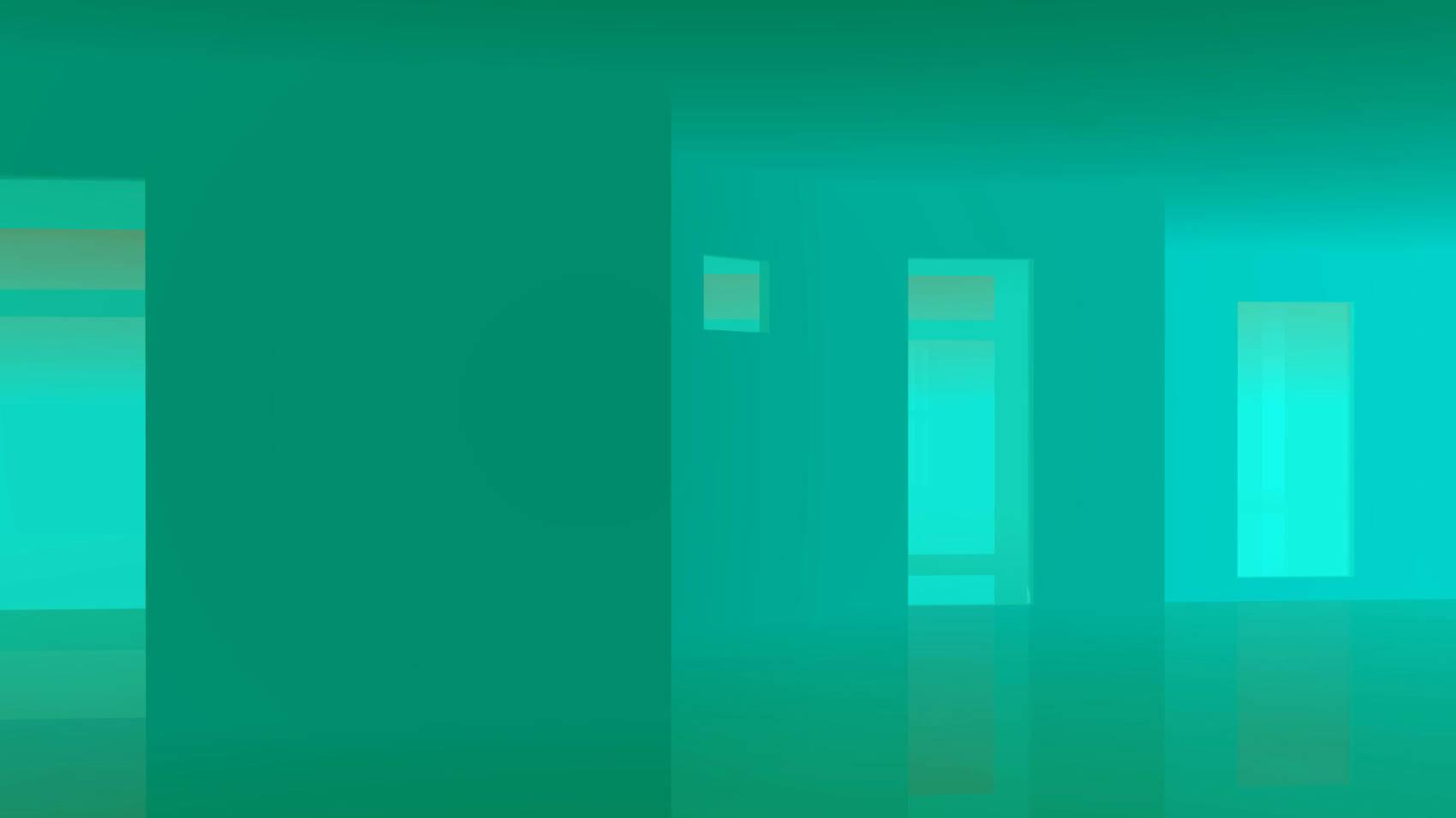 Light Sea Green Room, 2017, Jet d'encre, 77 x 137 cm