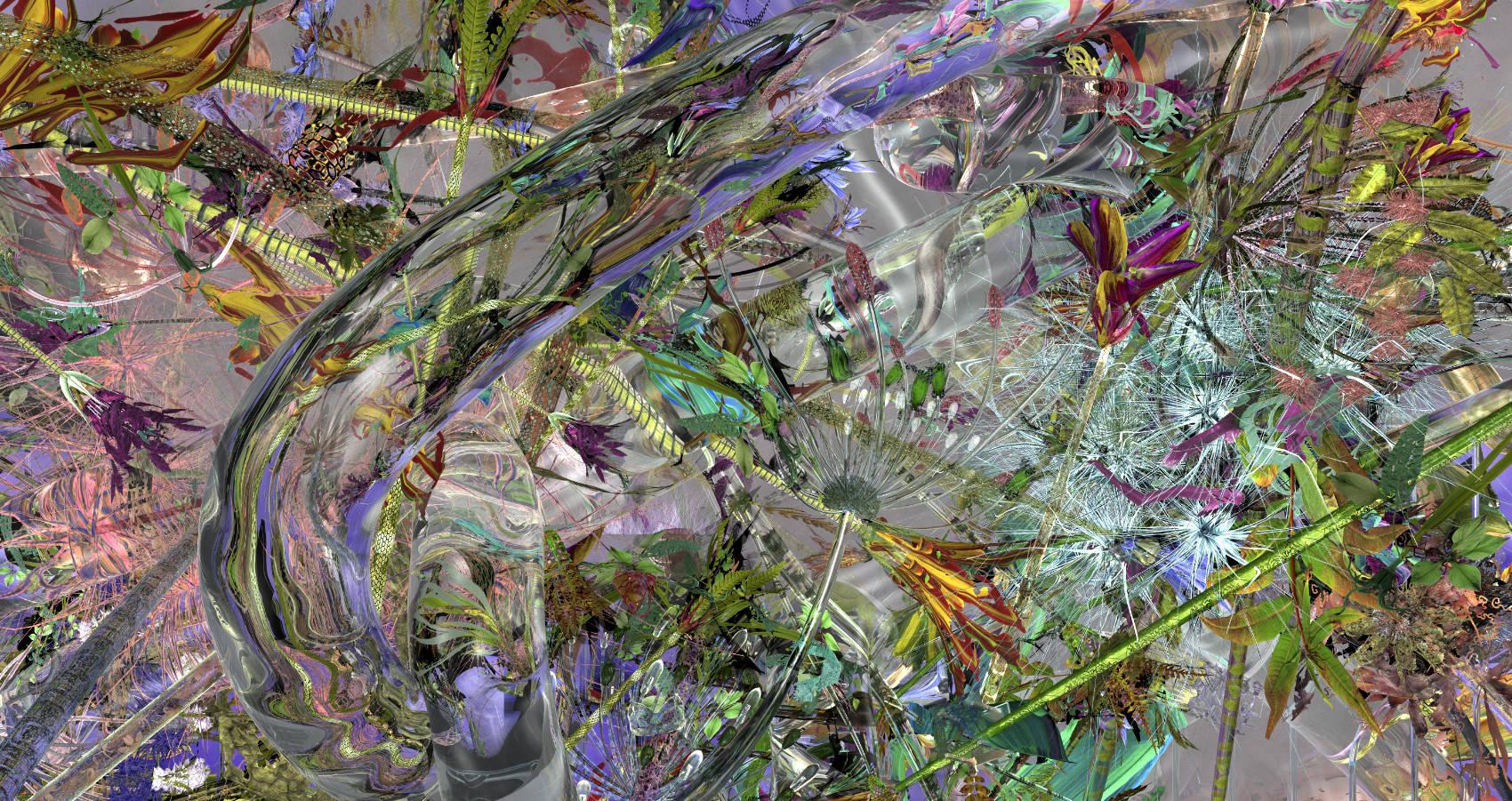 Xenobiosis 16, 2012, C-Print, 106 x 200 cm
