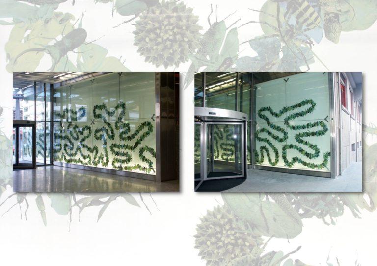 Diversity, 2003, jet d'encre sur Scotchal, Université de Genève, Fonds cantonal d'art contemporain, Etat de Genève