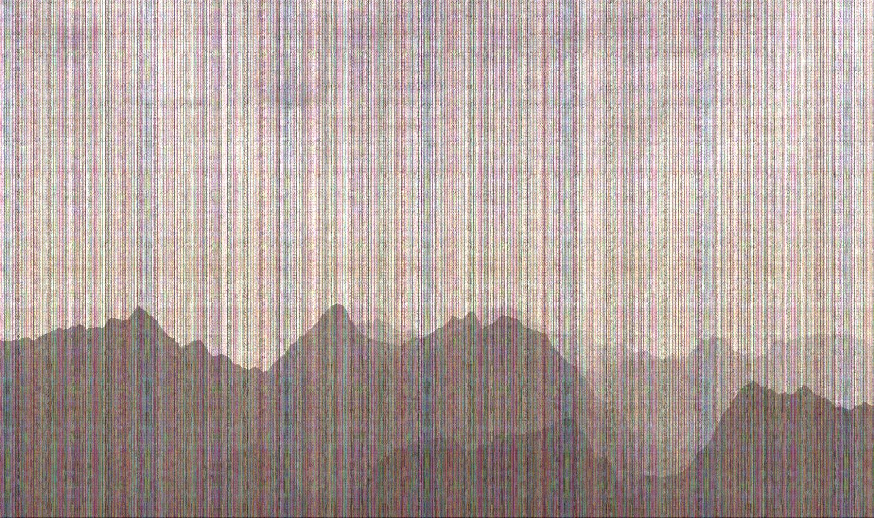 Landscape Recovery 9, 2017, Jet d'encre, 78 x 131 cm