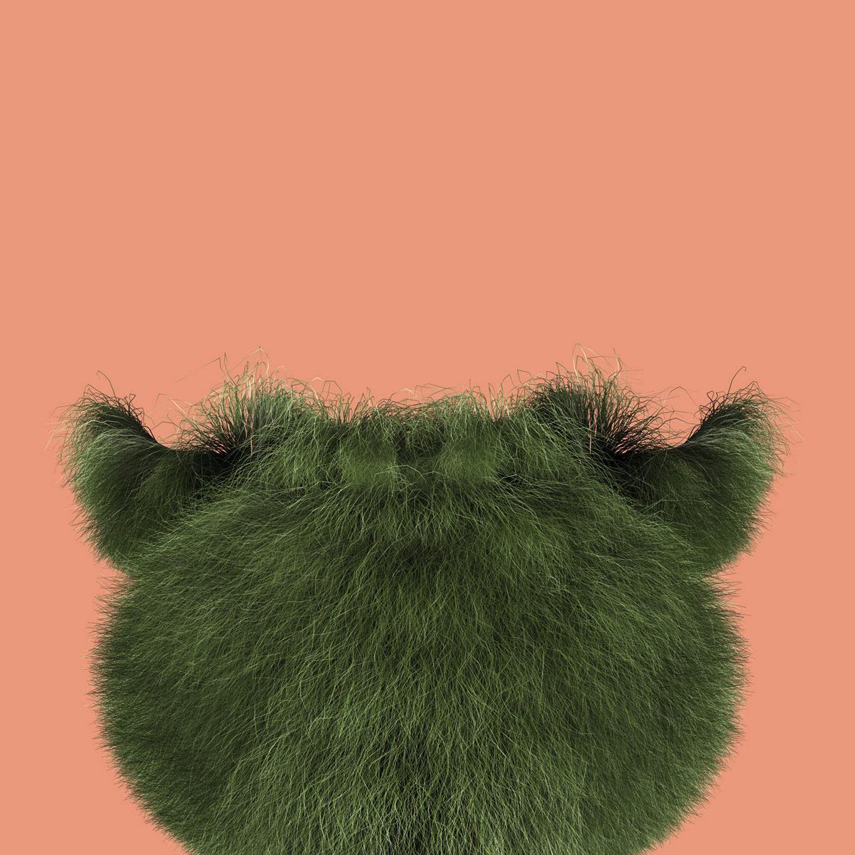 Grassbug 8, 2008, C-Print, 100 x 100 cm