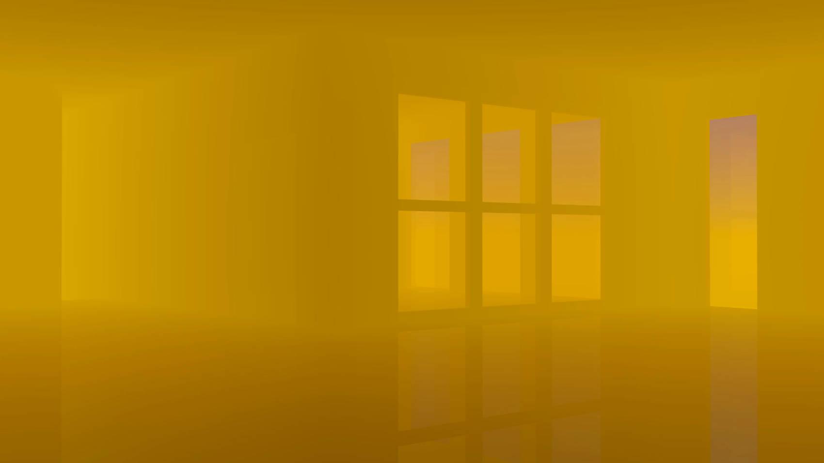 Golden Brown Room, 2017, Jet d'encre, 77 x 137 cm
