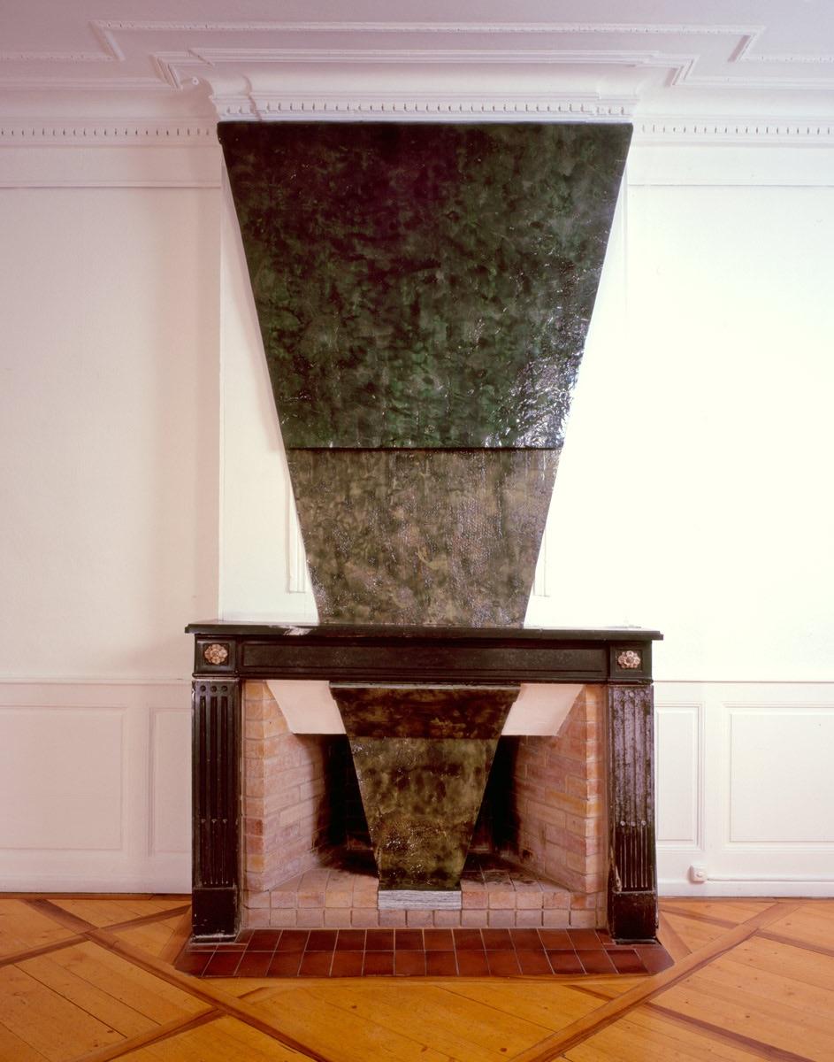Installation Galerie Malacorda, Genève, peinture sans support, 1987