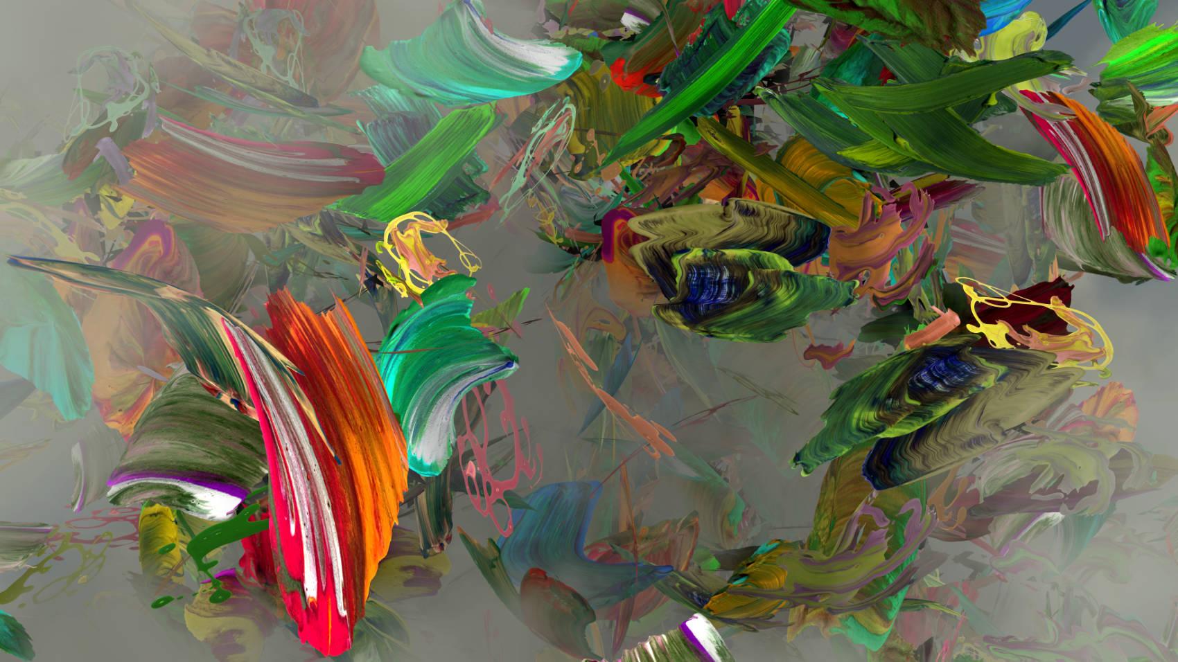 Peintures 3, 2011, C-Print, 70 x 124 cm