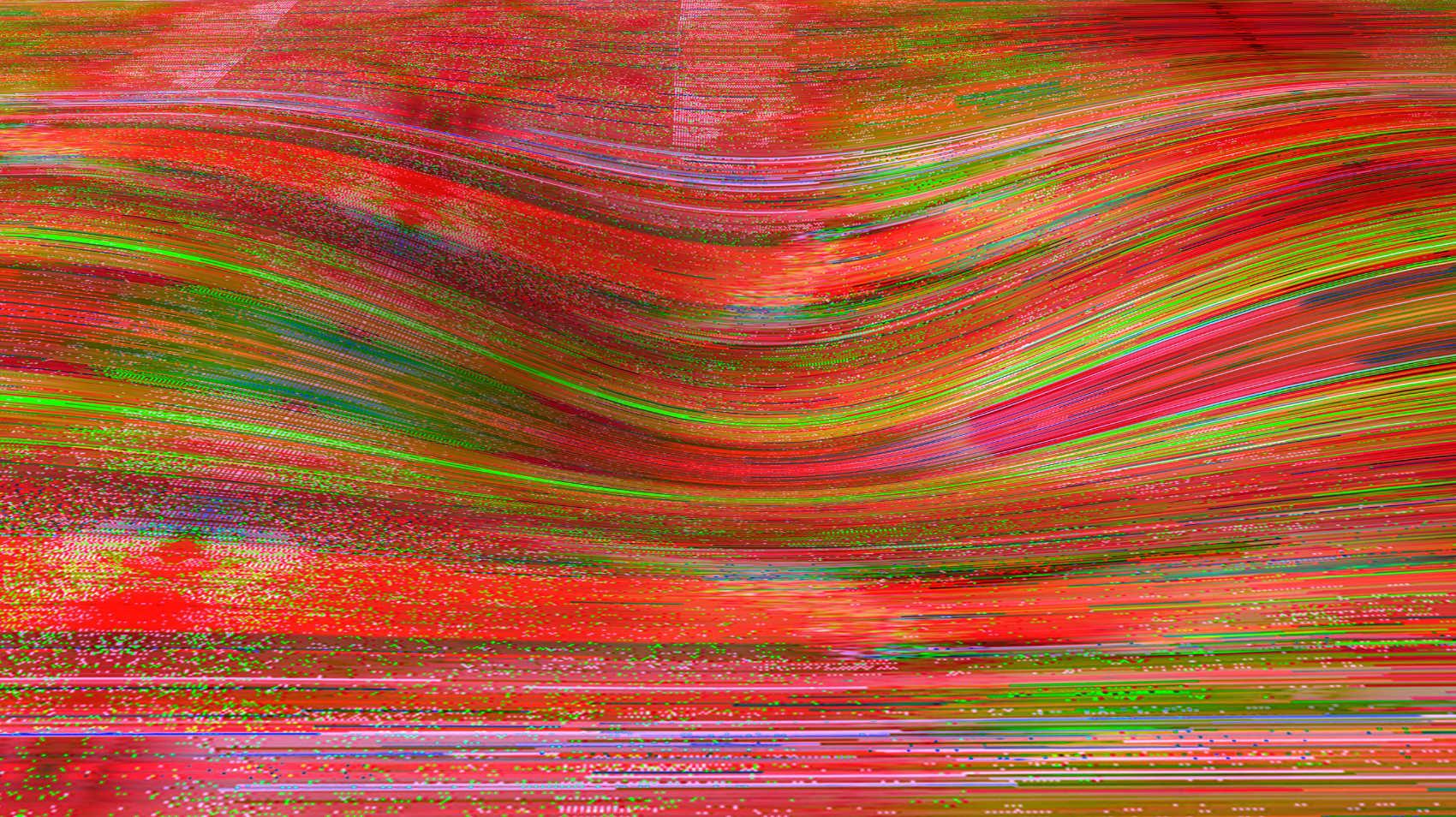 Landslide11, 2017, jet d'encre pigmentaire sur papier Fine Art, 84 x 150 cm