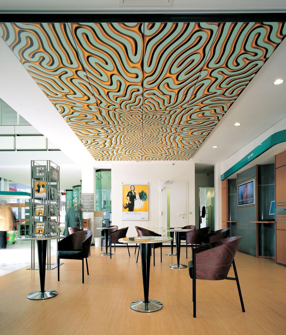 Installation plafond BCV, Vevey