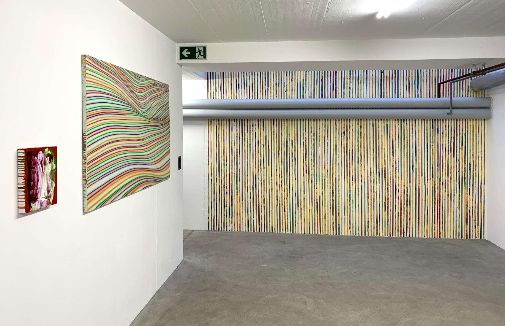 Installation, 2019, Club d'Art Contemporain, Lausanne
