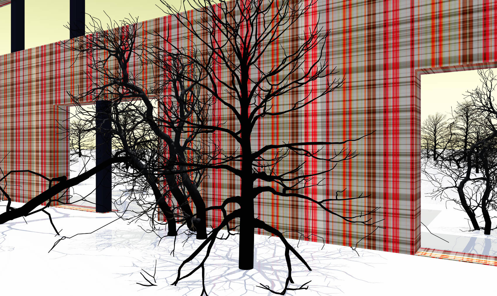 Indoor Landscape 6, 2015, Jet d'encre, 56 x 94 cm