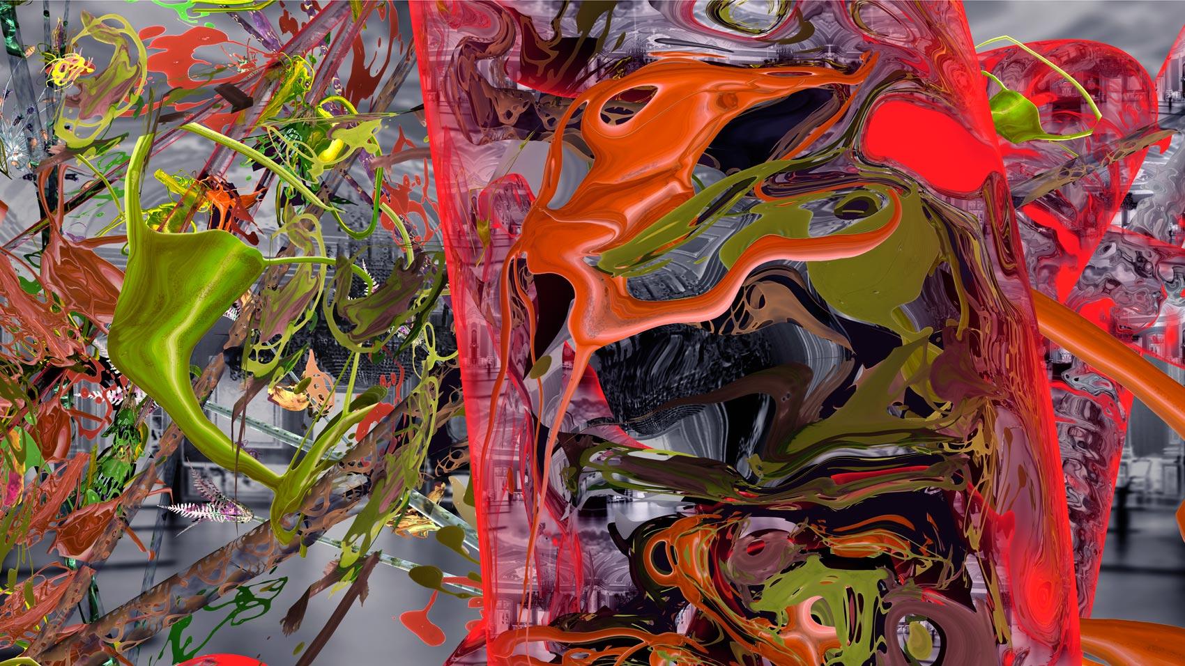 Intérieur 15, 2014, C-Print, 100 x 177 cm