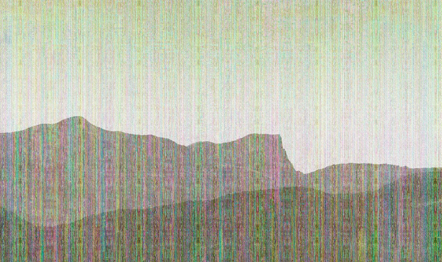 Landscape recovery 6, 2016, Jet d'encre, 78 x 135 cm