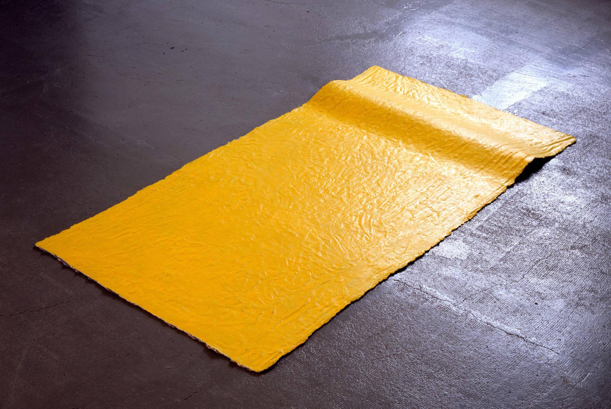 Lit, 1994, peinture sans support, peinture acrylique , vinylique et synthétique, env. 87 x 155 x 1 cm