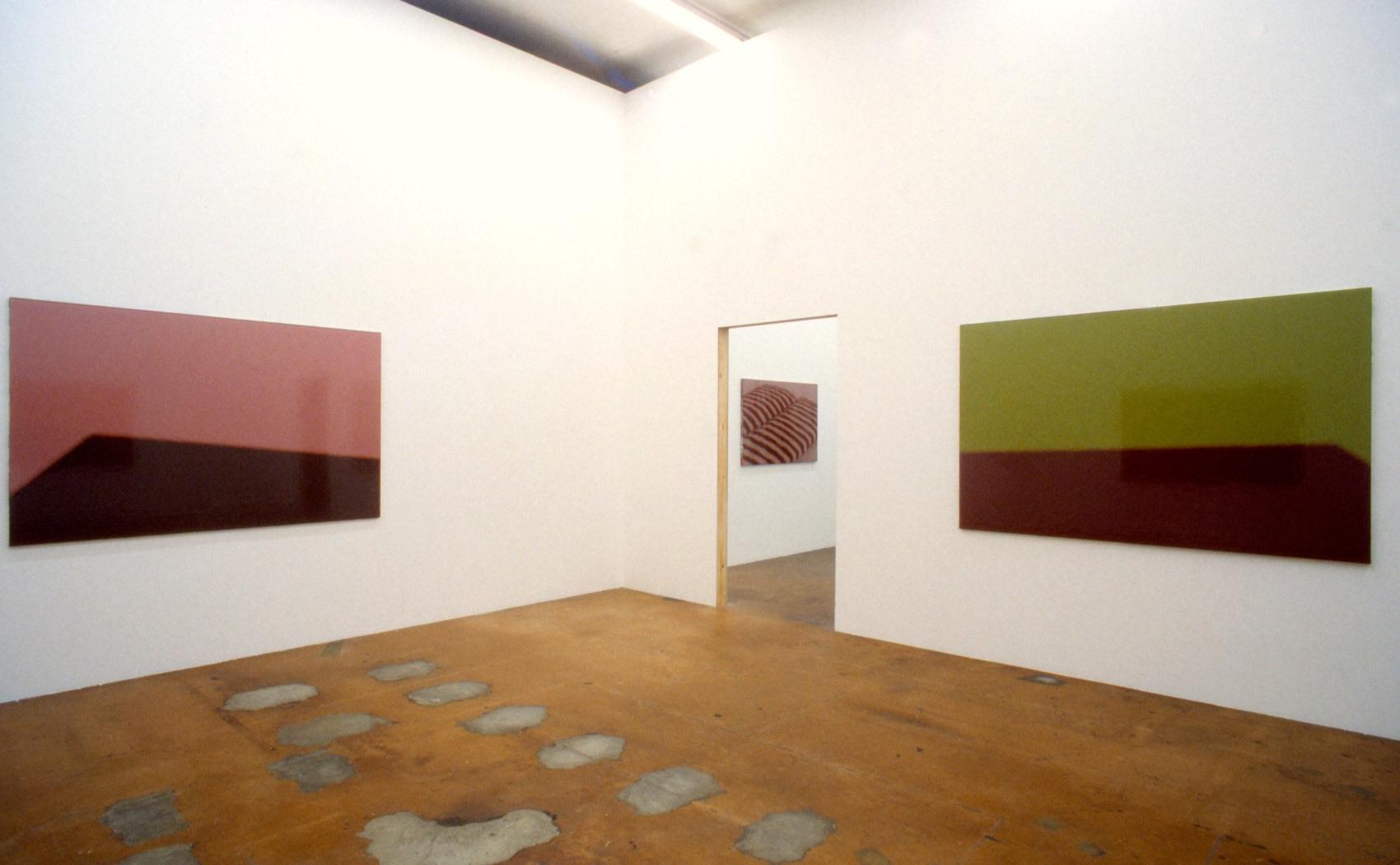 Vue exposition Michel Huelin, MAMCO, Musée d'art moderne et contemporain, Genève, 1999
