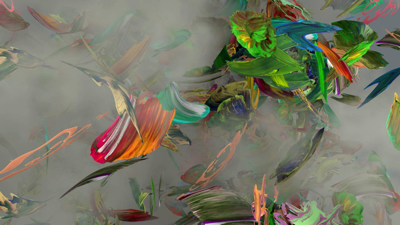 Peintures 4, 2011, C-Print, 70 x 124 cm