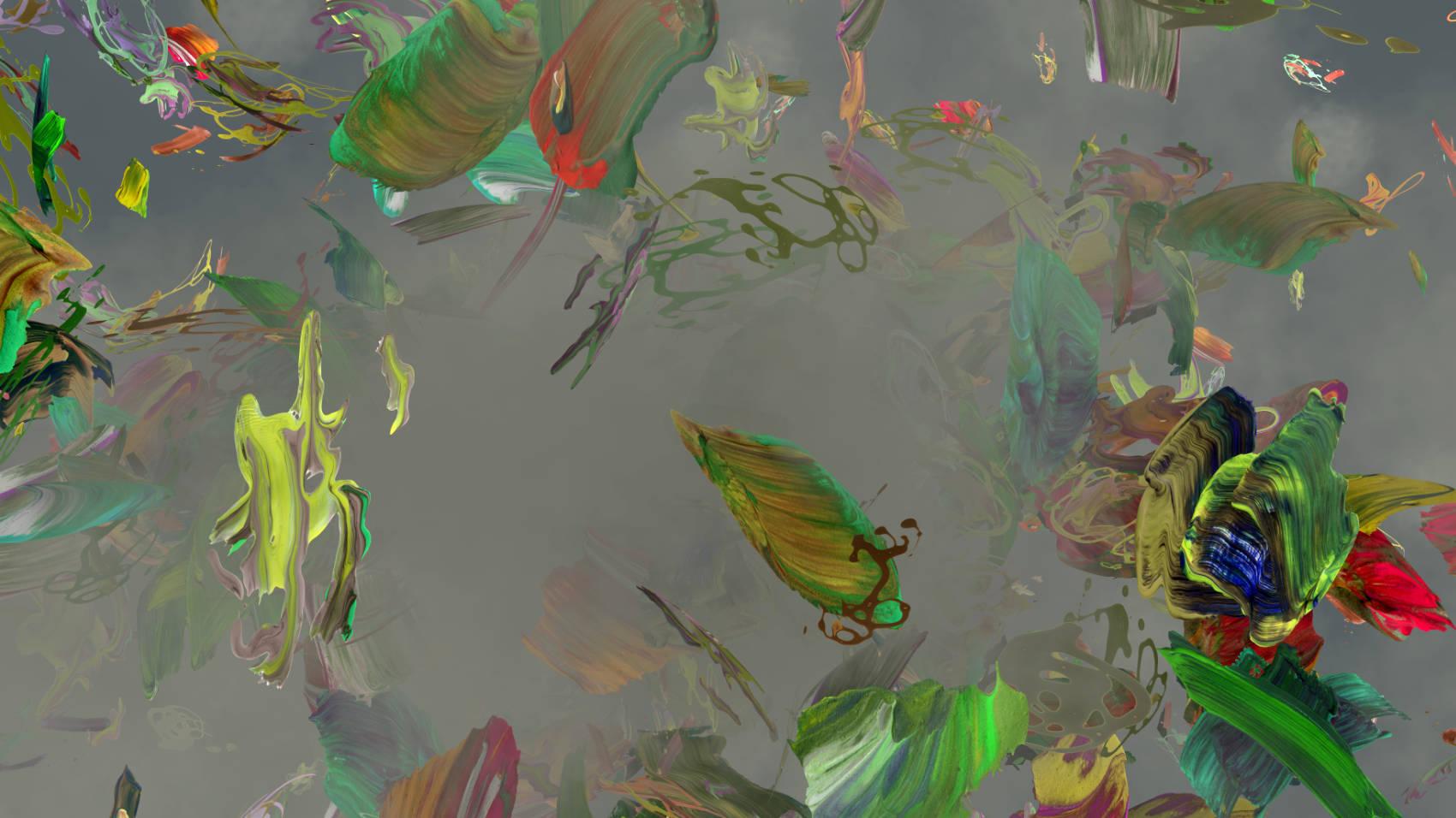 Peintures 9, 2011, C-Print, 70 x 124 cm
