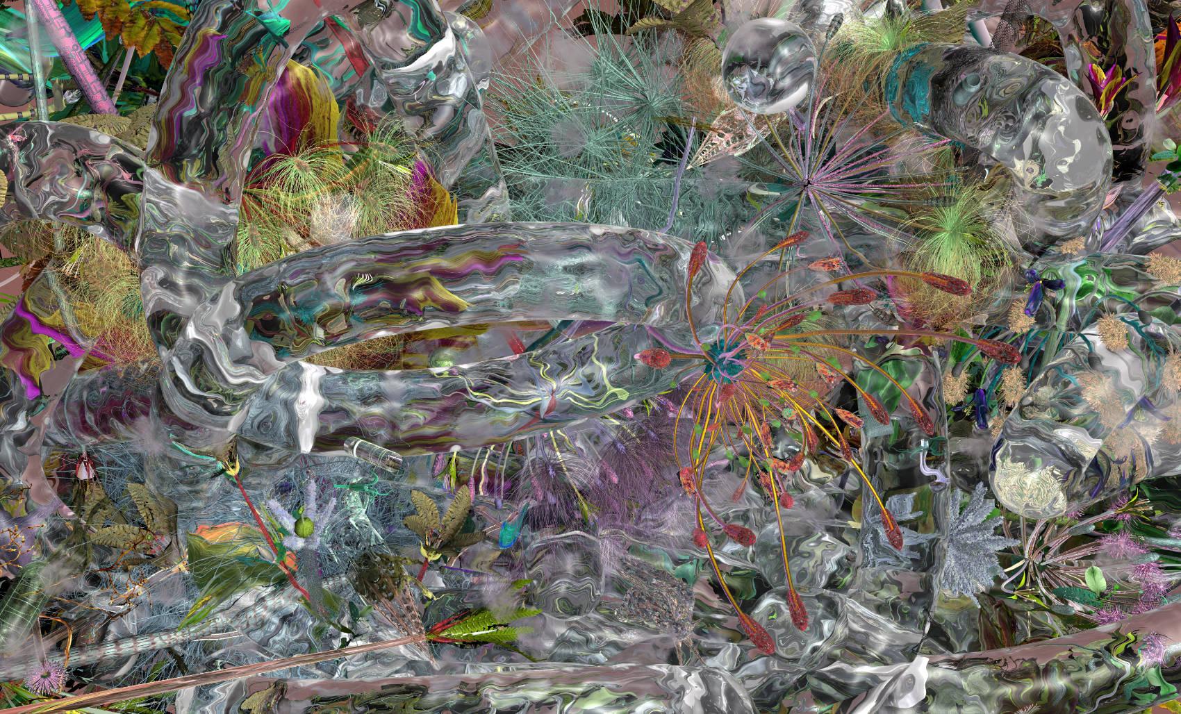 Phytotron 7, 2011, C-Print, 125 x 207 cm