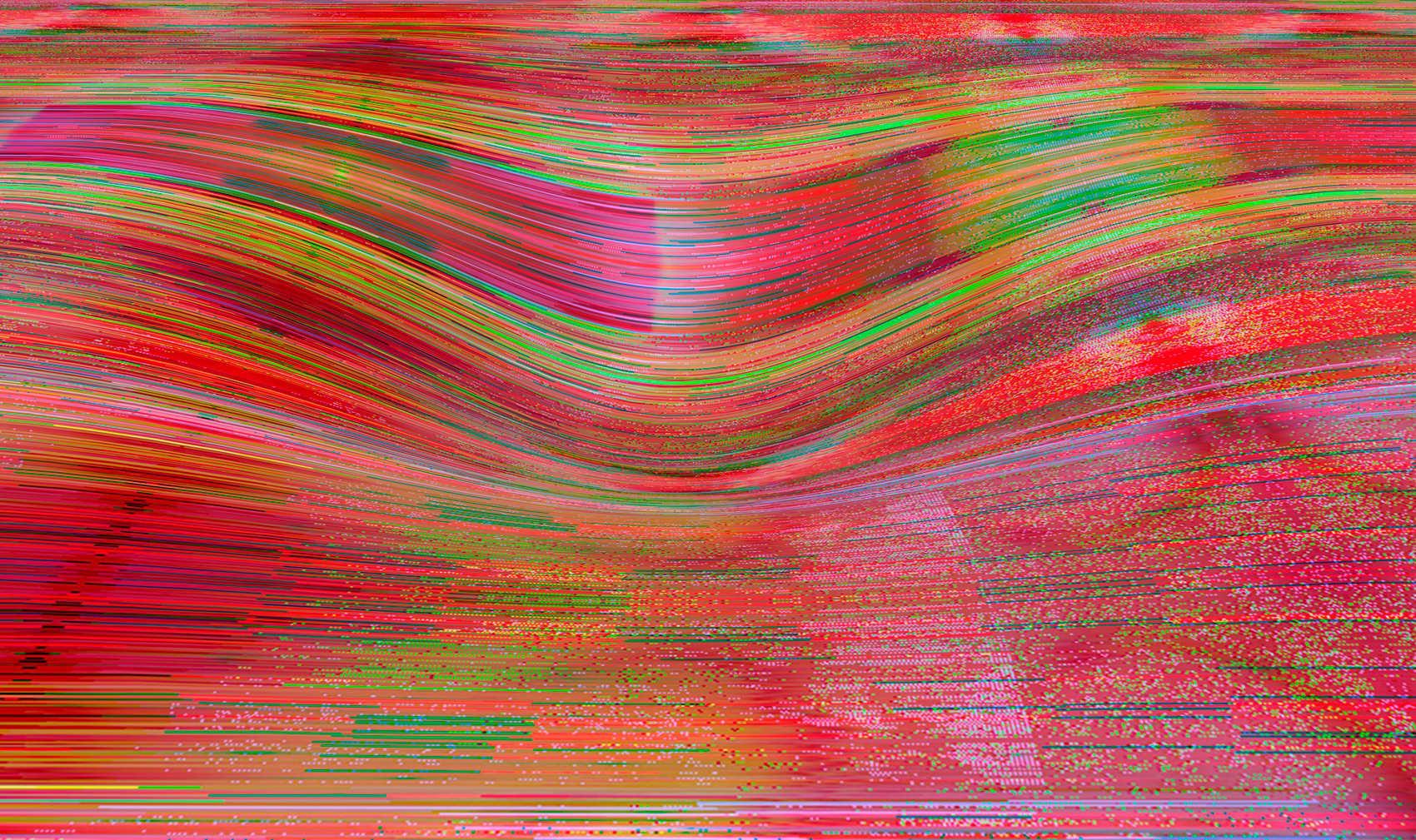 Landslide 9, 2017, jet d'encre pigmentaire sur papier Fine Art, 84 x 150 cm
