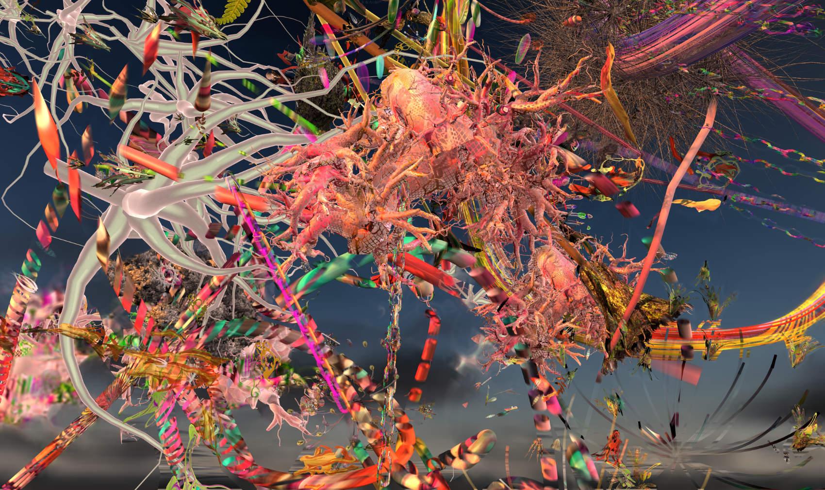 Disrupted Landscape 2, 2019, jet d'encre, 90 x 152 cm,