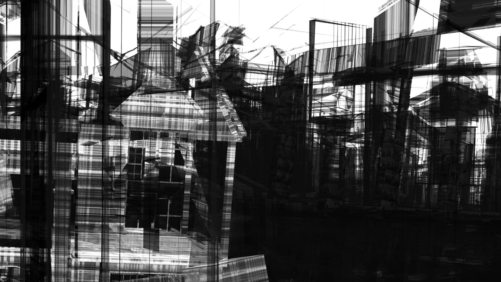 Broken Architecture 3, 2019, Jet d'encre, 59 x 99 cm